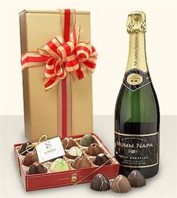 JQ Champagne and Chocolates