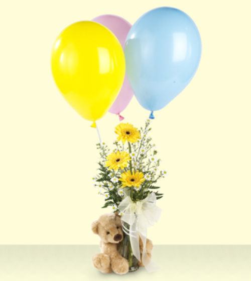 FTD Welcome Bear Bouquet