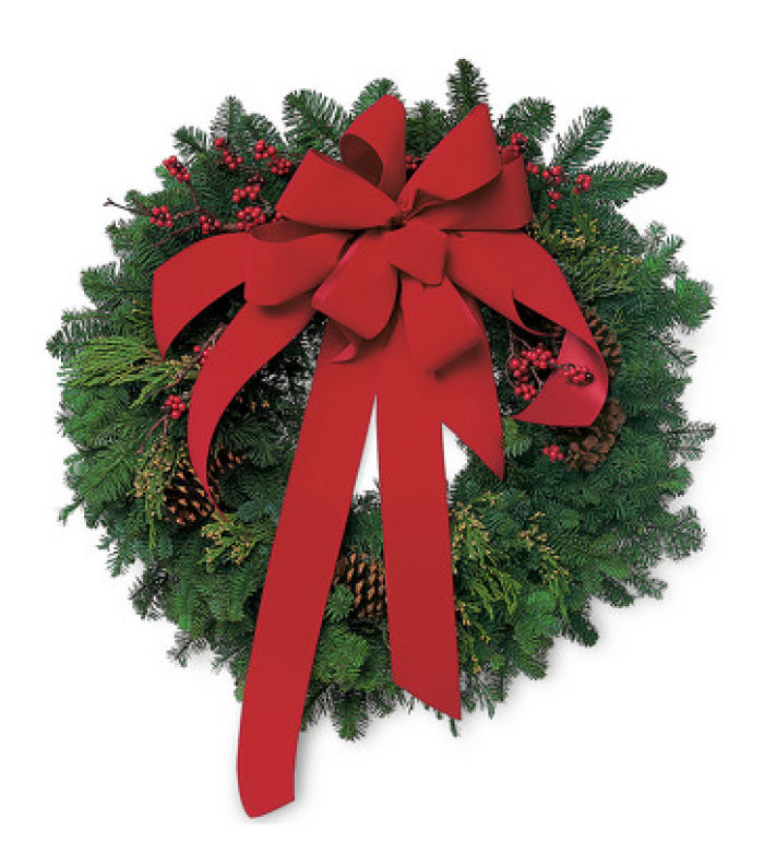 JAC Fresh Evergreen Wreath